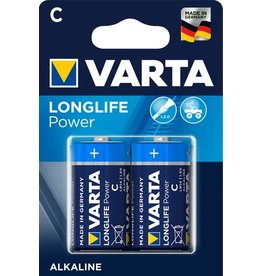 VARTA Batterie, LONGLIFE Power, Baby, C, LR14, 1,5V, 7.800mAh