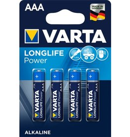 VARTA Batterie, LONGLIFE Power, Micro, AAA, LR03, 1,5V, 1.200mAh
