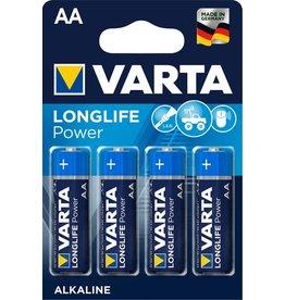 VARTA Batterie, LONGLIFE Power, Mignon, AA, LR6, 1,5V, 2.600mAh