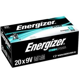 Energizer Batterie, MAX PLUS™, Alkaline, E-Block, 9V-Block, 6LR61, 9 V