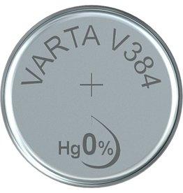 VARTA Knopfzelle, Silber, SR41, V384, 1,55V, 35mAh