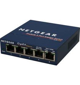 NETGEAR Switch ProSafe GS105, 5 Anschlüsse