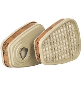 3M Atemschutzfilter 6055, gegen organische Gase und Dämpfe, A2