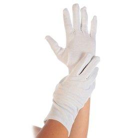 HYGOSTAR Handschuh BLANC, Baumwolle/Polyester, Größe: M, weiß