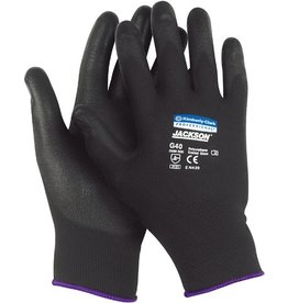 JACKSON SAFETY Handschuh G40, Polyurethanbeschichtung, Größe: 8, schwarz