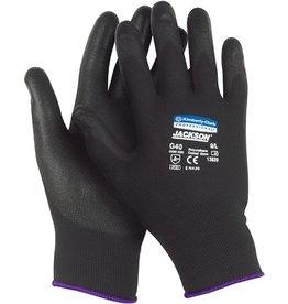JACKSON SAFETY Handschuh G40, Polyurethanbeschichtung, Größe: 9, schwarz