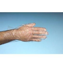 PAPSTAR Handschuh, unsteril, LDPE, Größe: L, farbl., tr