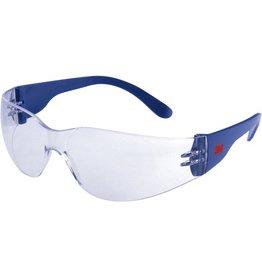 3M Schutzbrille Klassik, seitlich geschlossen, mit Bügeln, Tönung: klar