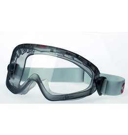 3M Schutzbrille Premium, seitl. geschl., AS / AF / UV, PC, mit Gummizug