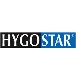 HYGOSTAR Überziehschuh, Einweg, CPE, Gummizug, Größe: universal, blau