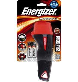 Energizer Taschenlampe, Impact Rubber 2AA, 2 x AA, mit Batterien, Reichw.: 52 m