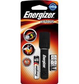 Energizer Taschenlampe X-Focus, 1xAAA, m.Batterien, mit Griff, LED, Reichw.: 27m