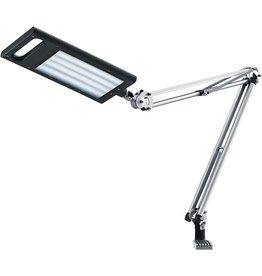 Hansa Tischleuchte, 4 Work, mit Tischfuß und Tischklemme, LED, anthrazit