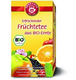 TEEKANNE Früchtetee BIO, Btl. aromavers., 20x3g
