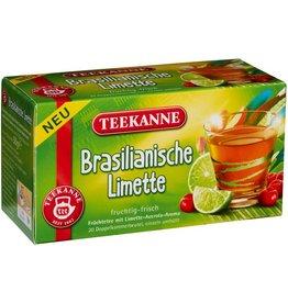 TEEKANNE Früchtetee Brasilianische Limette, Beutel kuvertiert, 20 x 2,5 g