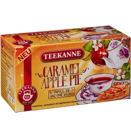 TEEKANNE Früchtetee Caramel Apple Pie, Beutel kuvertiert, 18 x 2,25 g