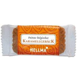 HELLMA Gebäck Karamell, Karton, 300 x 1 Stück
