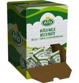 Arla H-Milch, 1,5 %, Spenderkarton, 100 x 20 ml