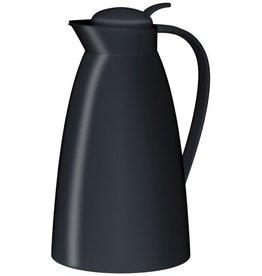 alfi Isolierkanne, Eco, Einhandausgießtaste, Kunststoff, 1 l, schwarz