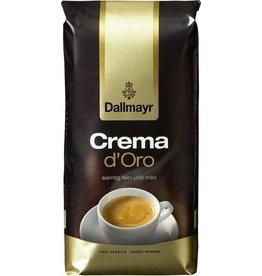 Dallmayr Kaffee, CREMA D'Oro, koffeinhaltig, ganze Bohne, Packung