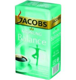 JACOBS Kaffee, KRÖNUNG Balance, koffeinarm, gemahlen, Packung
