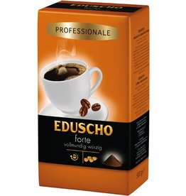 EDUSCHO Kaffee, Professional Forte, vollmundig würzig, koffeinhaltig, gemahlen