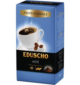 EDUSCHO Kaffee, Professional Mild, koffeinhaltig, gemahlen, Vakuumpack