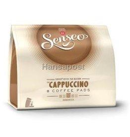 Senseo Kaffeepad, CAPPUCCINO, harmonisch, koffeinhaltig, 8x11,5g