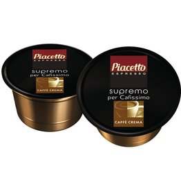 Piacetto Kapsel, CAFFÈ CREMA supremo, intensiv-aromatisch, 96 x 8,5 g