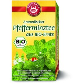 TEEKANNE Kräutertee BIO, Pfefferminze, Btl. aromavers., 20x2,25g