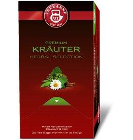TEEKANNE Kräutertee PREMIUM KRÄUTER, Beutel aromaversiegelt, 20 x 2 g