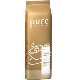 pure FINE SELECTION Milchschaum Cappuccino topping, Pulver, Beutel