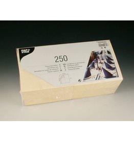 PAPSTAR Serviette, Tissue, 3lg., 1/4 Falz, 33x33cm, creme