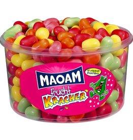 MAOAM Bonbon FRUCHT KRACHER, 265 Stück, sortiert, Klarsichtdose