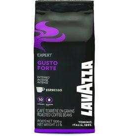 LAVAZZA Espresso, EXPERT GUSTO FORTE, koffeinhaltig, ganze Bohne, Packung