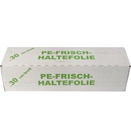 PAPSTAR Frischhaltefolie, Faltschachtel, 29 cm x 300 m, 0,009 mm