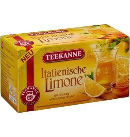 TEEKANNE Früchtetee Italienische Limone, Beutel kuvertiert, 20 x 2,5 g