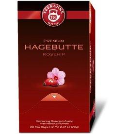 TEEKANNE Früchtetee PREMIUM HAGEBUTTE, Beutel aromaversiegelt, 20 x 3,5 g