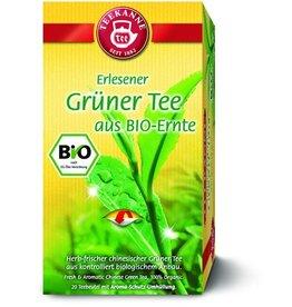 TEEKANNE Grüner Tee BIO, Btl. aromavers., 20x1,75g