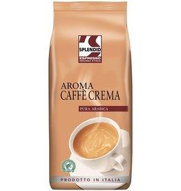 Splendid Kaffee Aroma Caffé Crema, koffeinhaltig, ganze Bohne