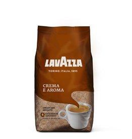 LAVAZZA Kaffee CREMA e AROMA, koffeinhaltig, ganze Bohne