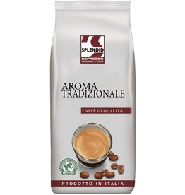 Splendid Kaffee Espresso Aroma Tradizionale, koffeinhaltig, ganze Bohne