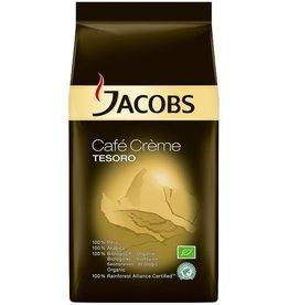 JACOBS Kaffee, Café Crème TESORO, koffeinhaltig, ganze Bohne, Packung