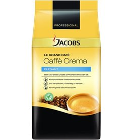 JACOBS Kaffee, Caffè Crema ELEGANT, koffeinhaltig, ganze Bohne, Packung