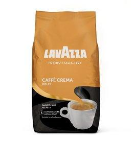 LAVAZZA Kaffee, caffècrema Dolce, weich & mild, ganze Bohne, Beutel