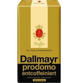 Dallmayr Kaffee, prodomo, entcoffeiniert, koffeinfrei, gemahlen, Packung