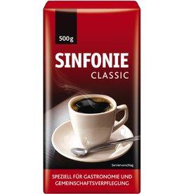 JACOBS Kaffee, SINFONIE CLASSIC, koffeinhaltig, gemahlen, Packung
