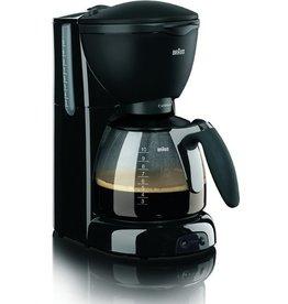 BRAUN Kaffeemaschine CaféHouse Pure Aroma Plus KF 560, für: 10 Tassen, sw