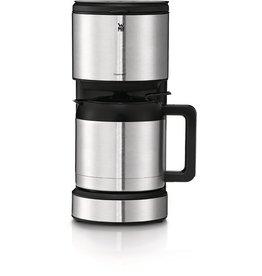 WMF Kaffeemaschine, Aroma Thermo STELIO, silber/schwarz, matt