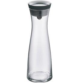WMF Karaffe, D: 7,7 cm, H: 29 cm, Basic, Glas, 1 l, farblos/schwarz